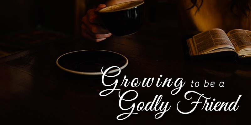 Growing To Be A Godly Friend