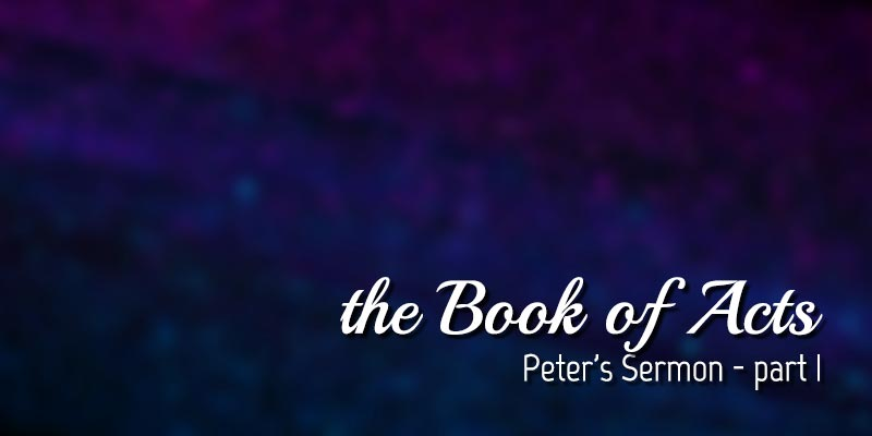abstract background with text Pater's Sermon - Part 1